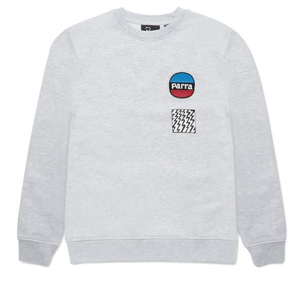 1Parra Racing Fox Crew Neck Sweatshirt Ash