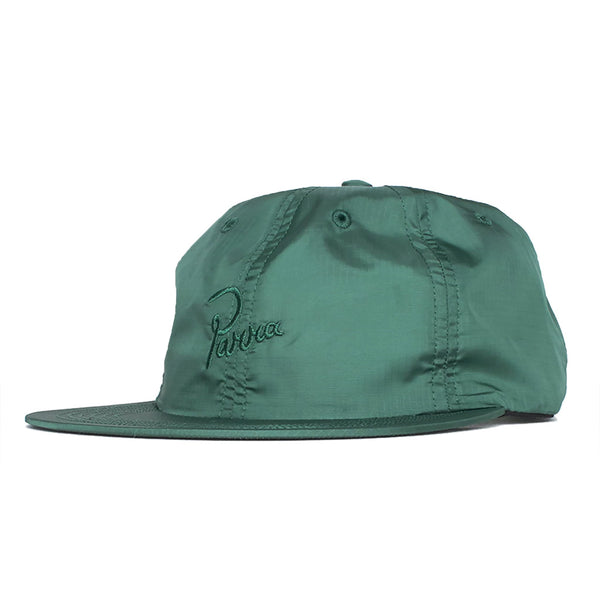 Parra Signature 6 Panel Ripstop Hat (Green)