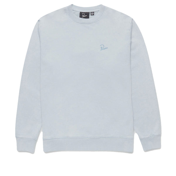 Parra Signature Logo Crew Neck Dusty Blue Q.