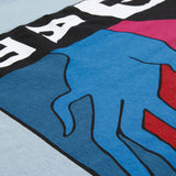 Parra Spilled Drink Dusty Blue T-shirt
