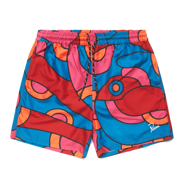 Parra Serpent Pattern Swimshorts