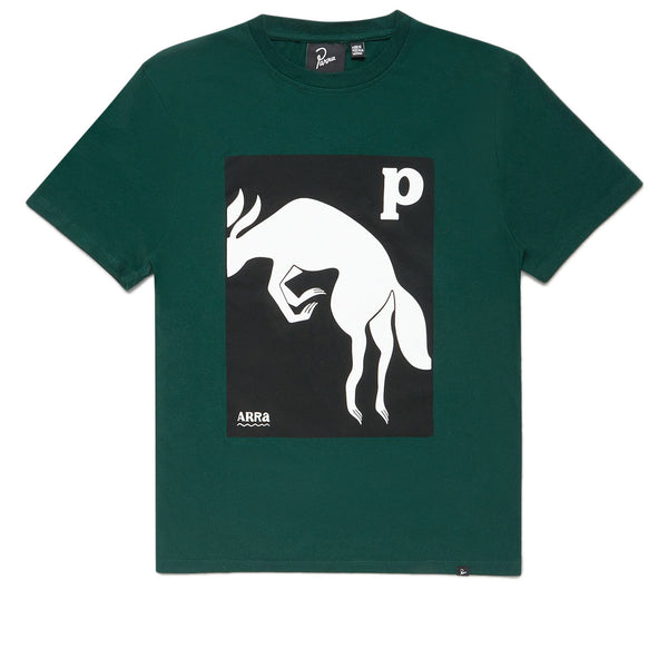 Parra The Brown Fox Pine Green T-shirt