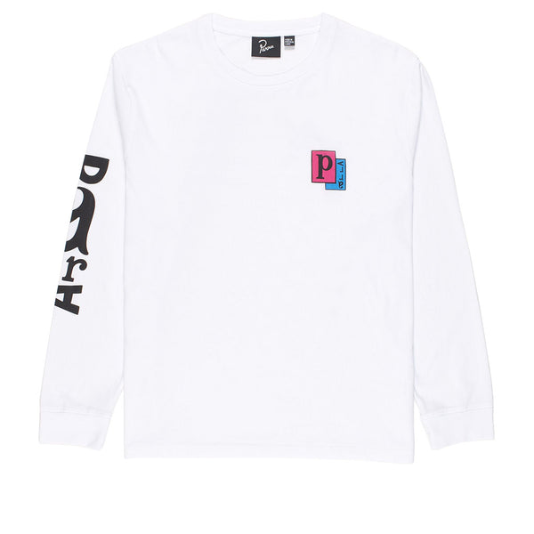 Parra Twisted Woman Long Sleeve White