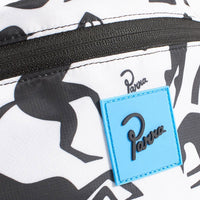 Parra Waist Pack Workout Woman Horse White