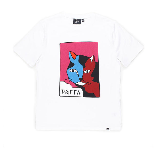 Parra Earl The Cat White Tee