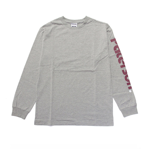 Paterson Logo L/S Heather Grey