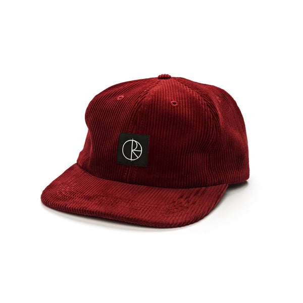Polar Corduroy Cap Red