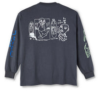 Polar Notebook Longsleeve Graphite