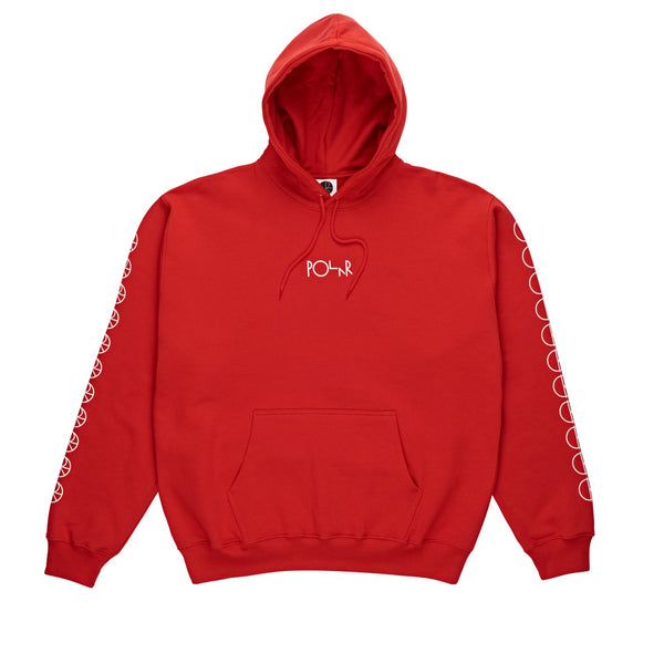 Polar Racing Premium Hoodie Red