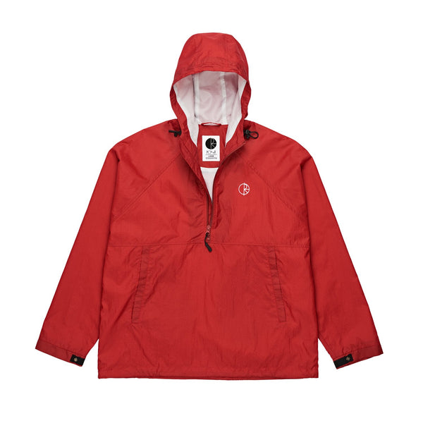 Polar Ripstop Anorak Jacket Red