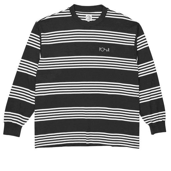 Striped Longsleeve Black