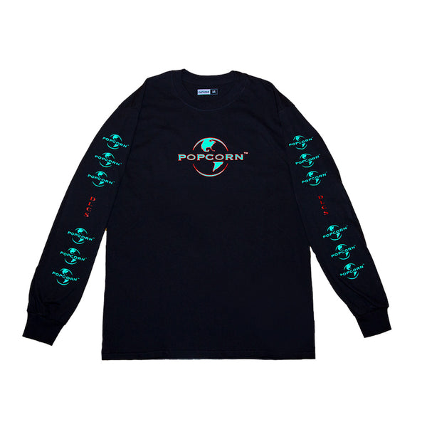 Pop Corn Pop Corn Universal Long sleeve Black