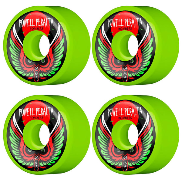 Bomber 85A 64mm Green