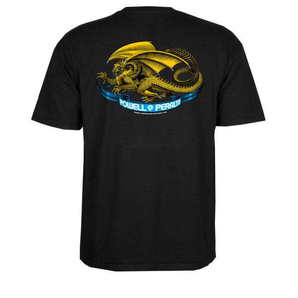 Powell Peralta Oval Dragon Black Tee