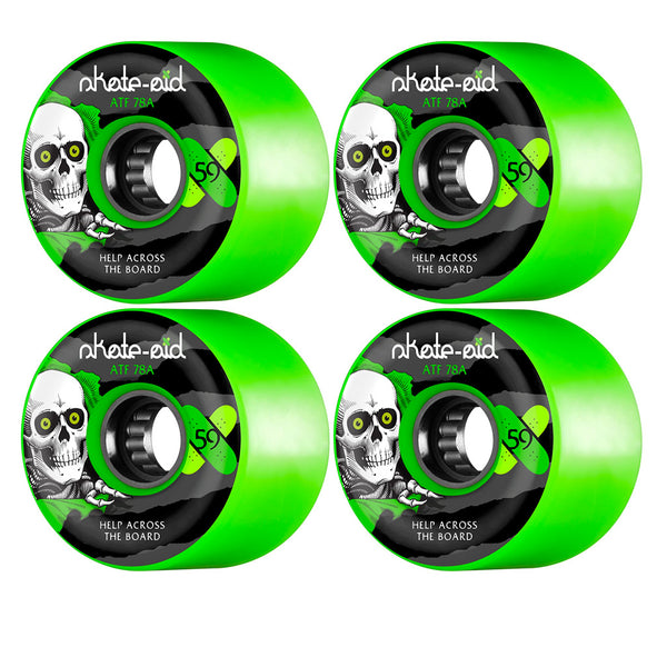 Powell Peralta ATF Skate Aid 78A 59mm Green