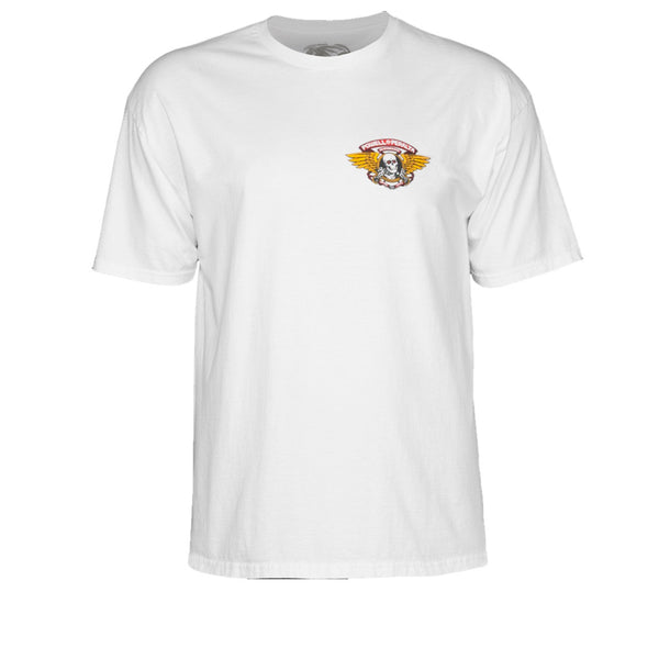 Powell Peralta Winged Ripper White Tee