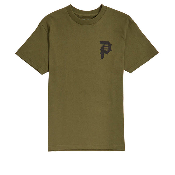 Primitive Tee Dirty P Military Green / Black