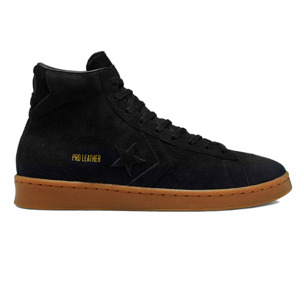 Converse Pro Leather Hi Black / Black / Gum