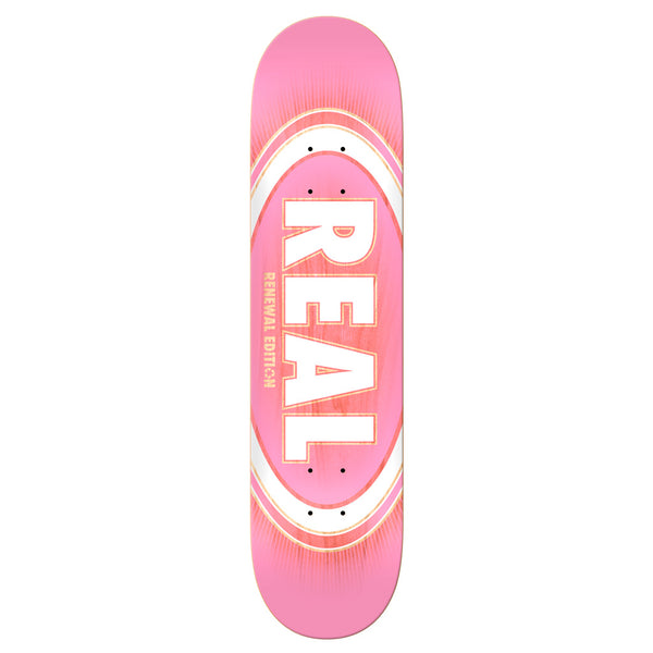Real Oval Burst Fade 7.3 (PP) Pink