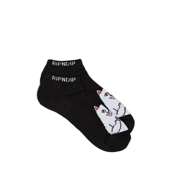 Lord Nermal Ankle Black Socks
