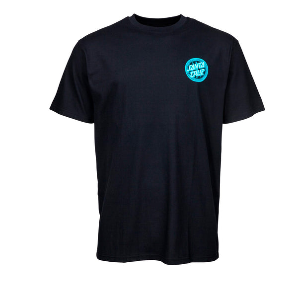 Santa Cruz Hold Back Time Black Tee