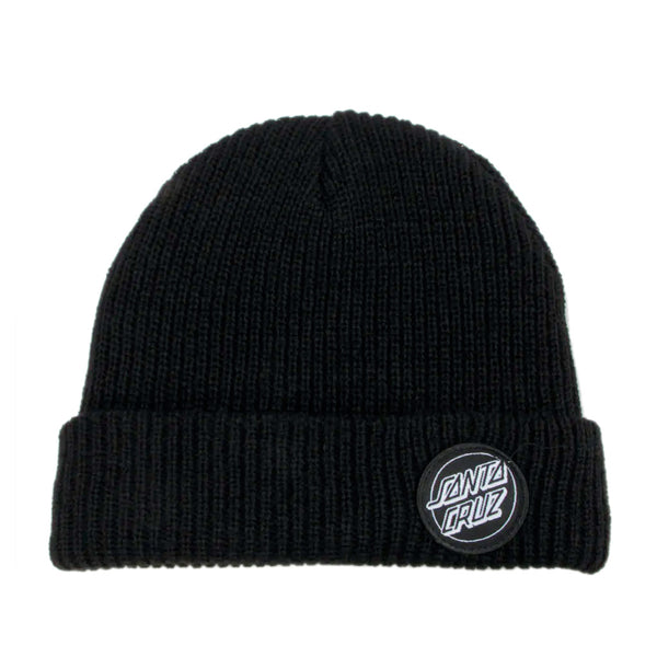 Santa Cruz Beanie Outline Dot Black