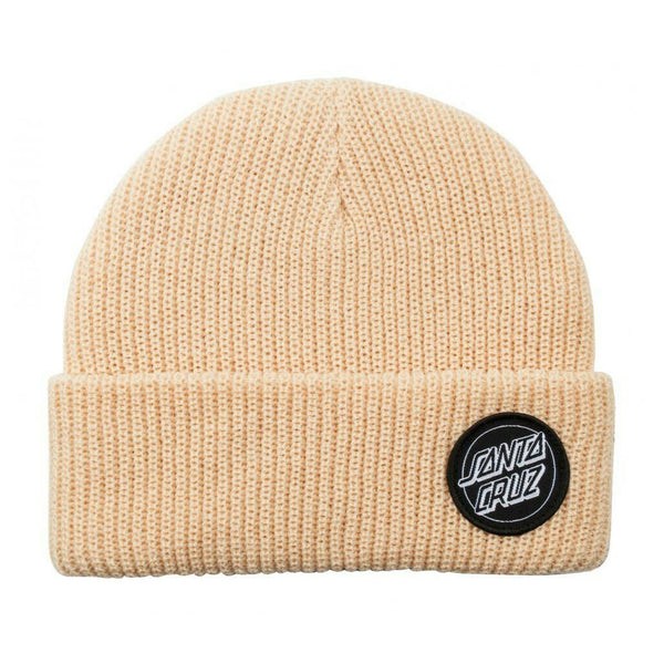 Santa Cruz Beanie Outline Dot Bone