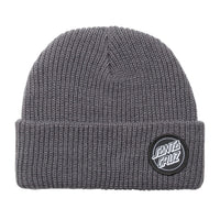 Santa Cruz Beanie Outline Dot Steel