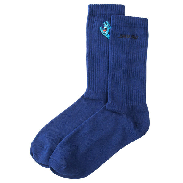 Santa Cruz Socks Screaming Mini Hand Dark Navy