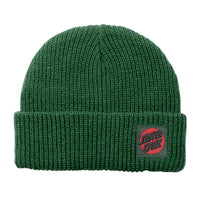 Santa Cruz Beanie Missing Dot Evergreen