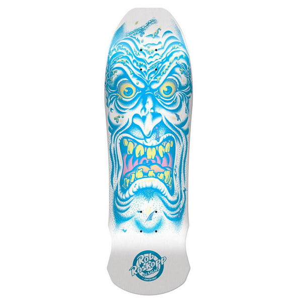 Santa Cruz Roskopp Face (White-Blue) Reissue 9.5