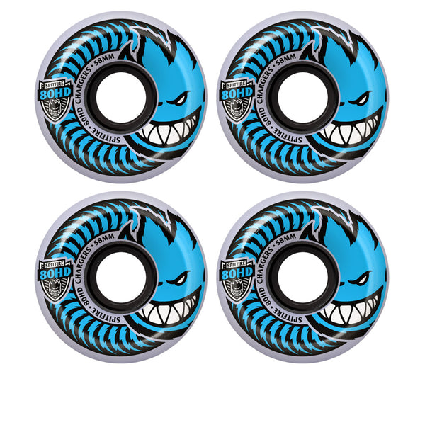 Spitfire Chargers Conical Clear 80HD 54mm