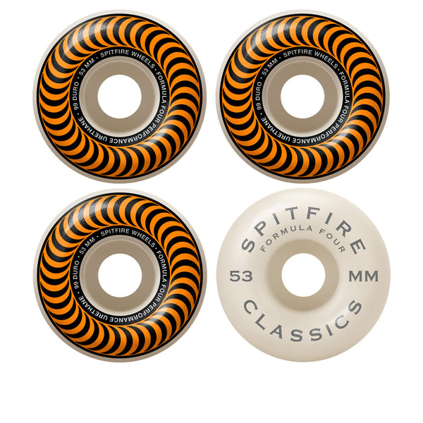 Spitfire Classic F4 99D 53mm (Orange)