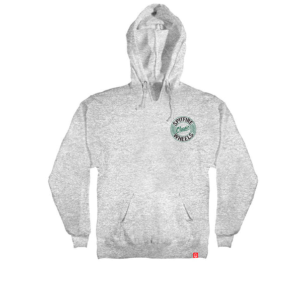 Spitfire Flying Classic Hoodie Heather Grey
