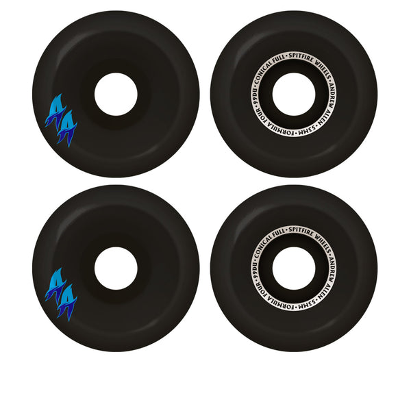 Spitfire Formula Four Conical Full Allen Black 99Du 53mm