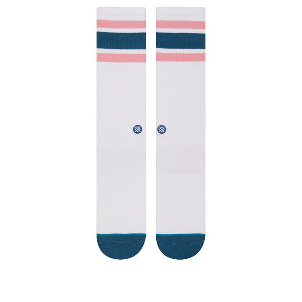 Stance Large Downhill White / Teal L
