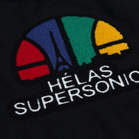 Helas Supersonics Teddy Jacket Black