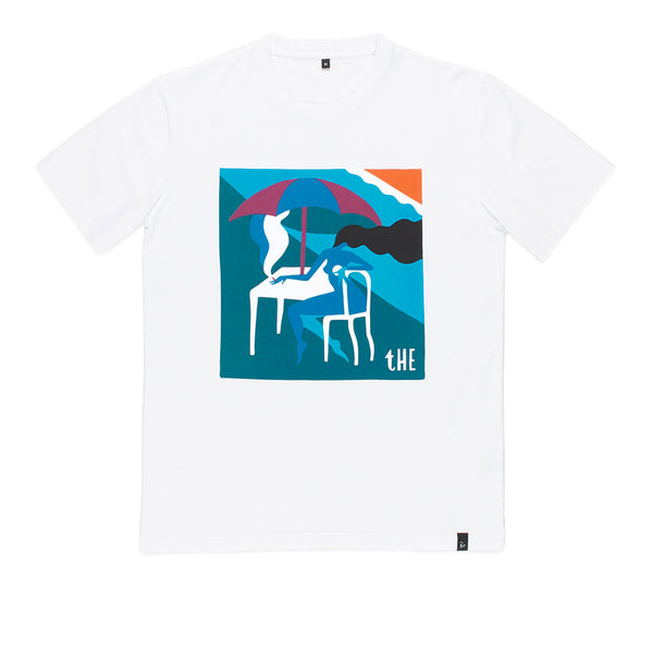 Parra t-shirt The Monaco White
