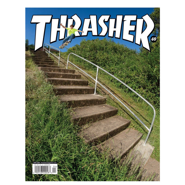 Thrasher Magazine April 2021