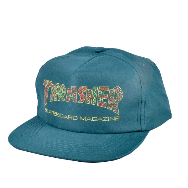 Thrasher Davis Snapback Green Forest