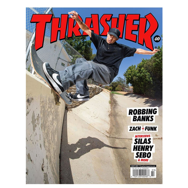 Thrasher Magazine March 2021