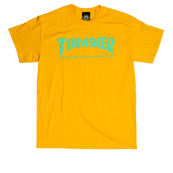 Thrasher Skate Mag T-shirt Gold