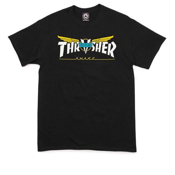 Thrasher Venture Collab T-shirt Black