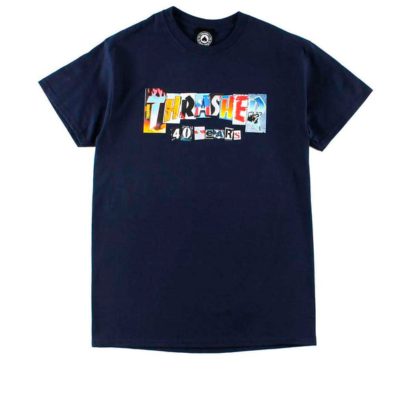 Thrasher 40 Years T-shirt Navy