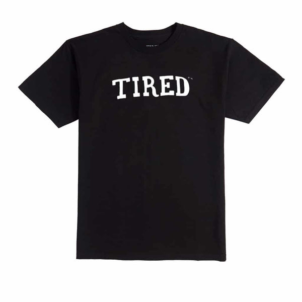 Tired Drop Out Black Tee