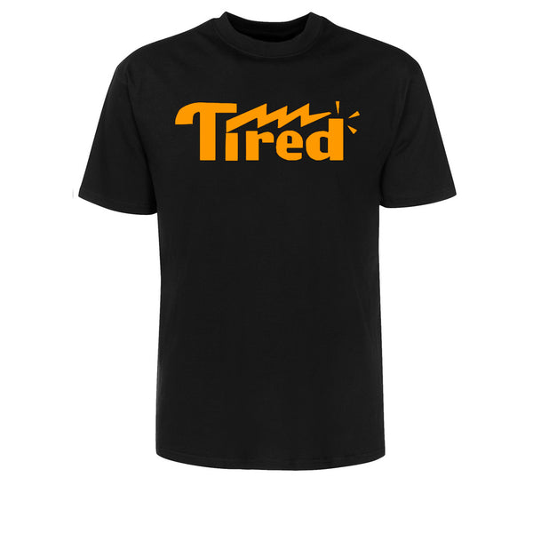 Tired Lightning Logo Black