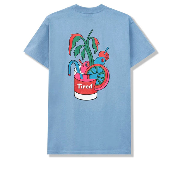 Tired Bloody Tee Dusty Blue