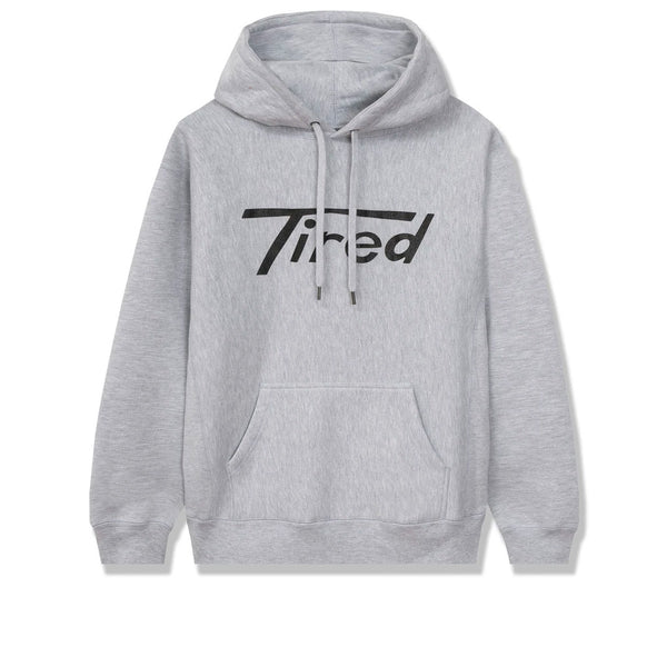 Tired Long T Pullover Hood Heather