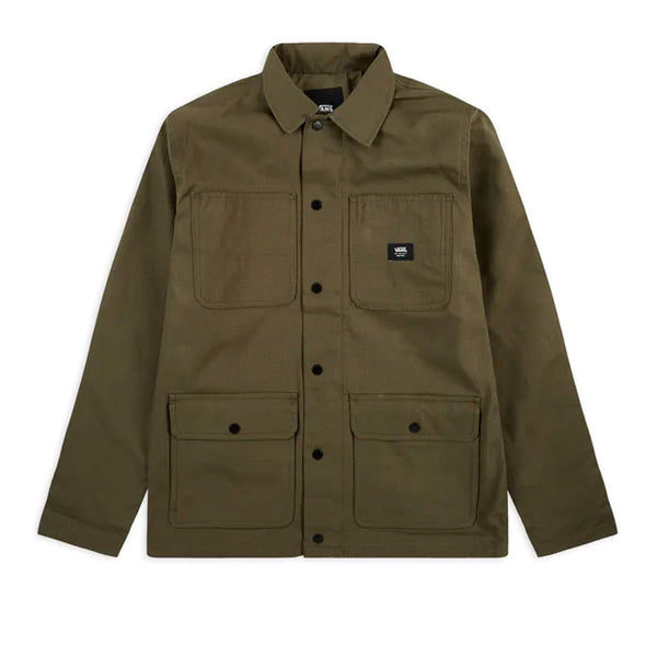 Vans Drill Chore Lined Coat Grape Leaf Q.
