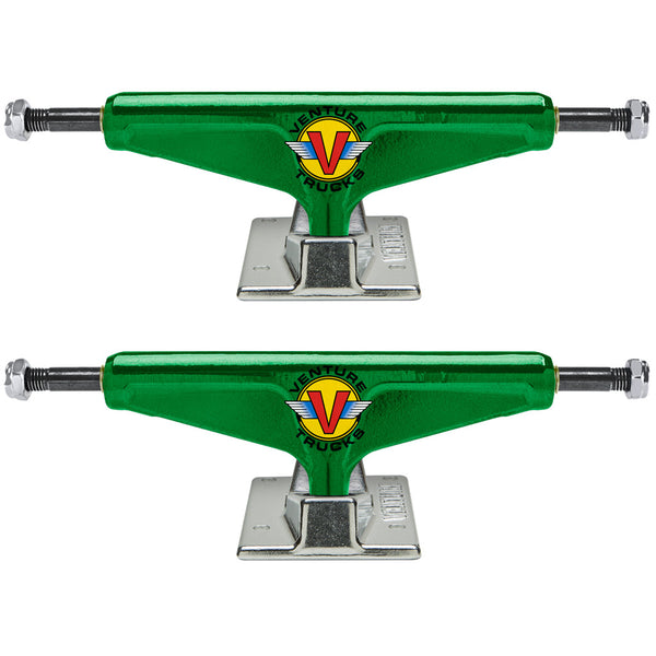 Venture Wings Anodized V Lights Green 5.2 (x2)